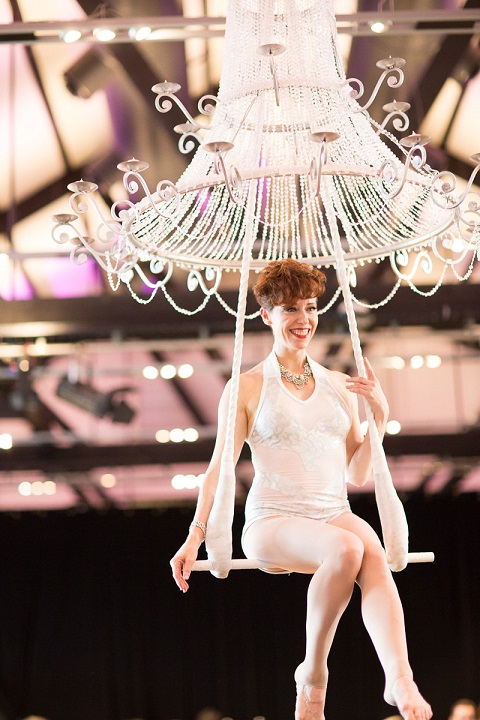 Champagne Chandelier - Sacred Circus-1
