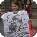 Caricatures on T-shirts-2