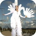 Beautiful Stilt Walkers-1
