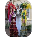 Enchanted Stiltwalkers