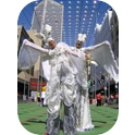 Stilt Walking Heavenly Angels