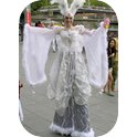 Stilt Walking Heavenly Angels-3