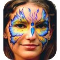 Rainbow Face Painting-2