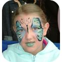 Rainbow Face Painting-3