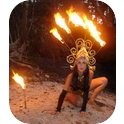 Fire Performers - Sacred Circus