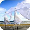 SNOW QUEENS STILT WALKERS  (VIC / NSW)-1