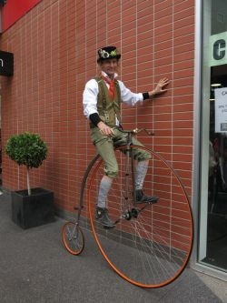 Penny Farthing Rider